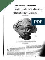 06071053 Lopez Austin - Los Rostros de Los Dioses Mesoamericanos