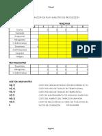 Hoja Con Modelo de Optimizacion Plan Agregado