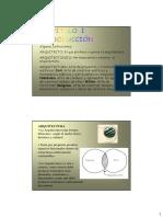 Arquitectura CAP I Introduccion