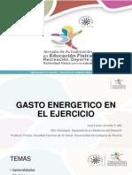 Gasto Energetico Ejercicio Jose Giraldo
