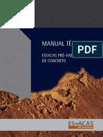 Manual Técnico_Estacas Pré-fabricadas de Concreto