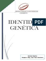 Identidad Genetica Trabajo Completo