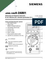 Manual de 3RK1904-2AB01 Modulo de Direccionamiento ASi