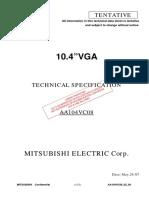 AA104VC08 Mitsubishi