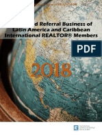 2018 Outbound Referral Business of Latin America and Caribbean International Realtor Members 06-22-2018