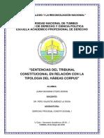 Sentencias Del Tribunal Constitucional en Relación Con La Tipologia Del Hábeas Corpus - Otero Moran Juana Maximina (3)