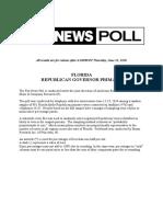 Fox_FL GOP GOV Primary_Complete_Topline_June 21 Release