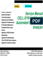 Cell-Dyn 1400 service manual