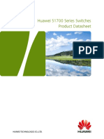 Huawei S1700 Series Switches Product DataSheet