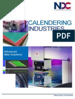 NDC Calendering Industries Brochure 2015