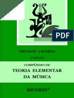 Compêndio de Teoria Elementar Da Música