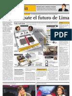 Hoy Se Debate El Futuro de Lima