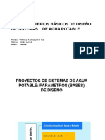 Tema 7 Periodo de Diseño, Dotaciones, Consumo