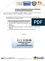 Protocolo de Elaboración de La Carpeta Para El Reingreso Al Cpnb
