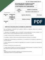Directiva de Informes de Laboratorio