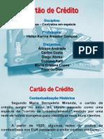Apresentação_Cartão de Crédito