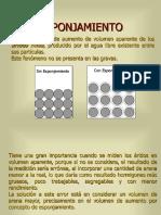 6.- ESPONJAMIENTO