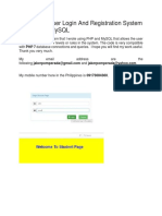 Multi Level User Login and Registration System in PHP and MySQL