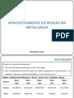 Biogas Metalurgia