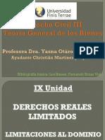 Teoria General de Los Bienes, Parte IX, Limitaciones Al Dominio (4)