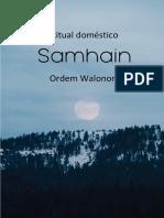 Samhain Doméstico