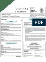 AHT_2006 Acuerdo y Homologacion_Bol Ofi 31011 Pag Nº 23