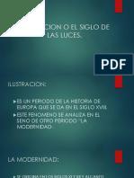 ILUSTRACION O EL SIGLO DE LAS LUCES.pptx