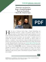 Entrevista Jean Luc e Daniele Roger