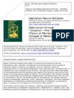 Destruction Through Creation the Critical Theory of Patriarchy and the Collapse of Modern Civilization