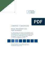 LIBERTAD Y SEGURIDAD BASES PROGRAMÁTICAS PARA ALEMANIA