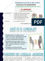 Expo. 1 EL Lenguaje