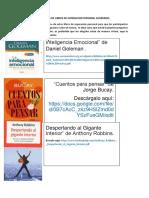 LISTADOS DE LIBROS DE SUPERACION PERSONAL SUGERIDOS.docx