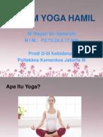 PPT Senam Yoga