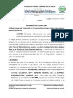 MODELO DE DENUNCIA DE UN ALIMENTO ADULTERADO