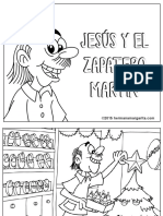Jesus y El Zapatero Martin BN Bienaventuranzas