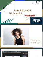 TRANSFORMACION DE IMAGEN PHOTOSHOP
