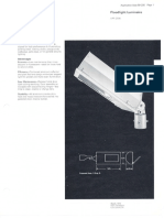 Westinghouse Lighting APF-250K HID Floodlight Spec Sheet 3-72