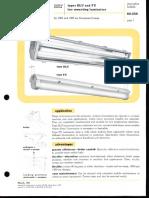 Westinghouse Lighting DLU & FU Fluorescent Tunnel & Underpass Spec Sheet 3-61