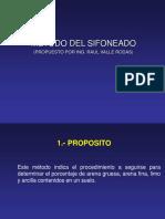8.- SIFONEADO