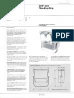 Westinghouse Lighting MRF 400 Series Floodlight Spec Sheet 6-79