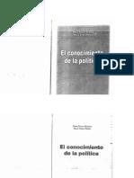 El Conocimiento de La Politica - Bonetto y Piñero (1)