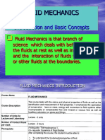1 - Fluid Mechanics Introduction