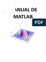 Manual de Matlab