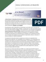 Opendemocracy.net-Los Derechos Humanos La Democracia y El Desarrollo Aliados Al Fin