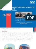 Instalaciones Fotovoltaicas NetBilling Sec Chile