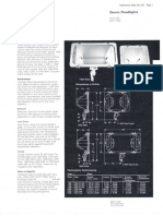 Westinghouse Lighting WQF-500 & WQF-1500 Quartz Floodlight Spec Sheet 3-72