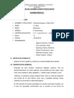 Informe Final Proyectivas