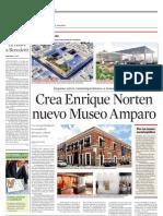 Crea Enrique Norten Nuevo Museo Amparo