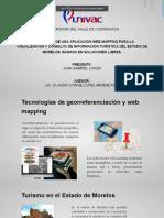Desarrollo de una aplicación web mapping para la visualización y consulta de información turística de un estado