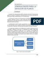 Cap II. Generalidades Para La Presentacion de Planos